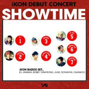 iKON  バッチセット [SHOWTIME] DEBUT CONCERT 公式グッズ ikon アイコン fani2015
