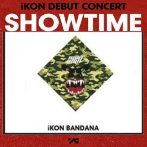 iKON バンダナ [SHOWTIME] DEBUT CONCERT 公式グッズ ikon アイコン fani2015