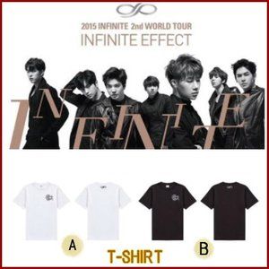 [Tシャツ] INFINITE 2nd 2015 WORLD TOUR INFINITE EFFECT 公式グッズ fani2015