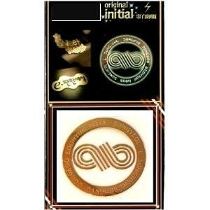 INFINITE infinite インフィニット 24Kゴールドマークシール【メール便可】 fani2015