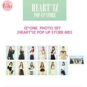 IZ*ONE PHOTO SET [HEART*IZ POP UP STORE GOODS] OFFICIAL MD アイズワン 公式 fani2015