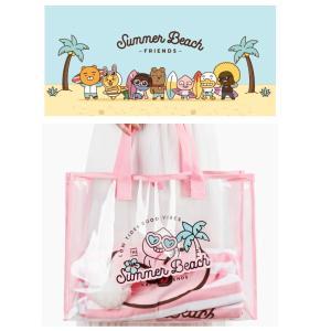 公式カカオフレンズ サマービーチバッグ 【2種類選択別】|fani2015