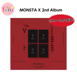 MONSTA X(モンスタエックス)2nd Album Take. 2 [WE ARE HERE] Ver.1, 2, 3, 4 選択|fani2015