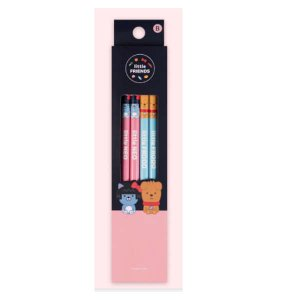 【カカオフレンズ】ネオ&フロドの鉛筆4本入り|fani2015
