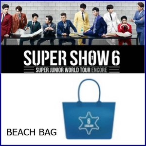 [ビーチバック] SUPER JUNIOR スーパージュニア SUPER SHOW 6 SUPER JUNIOR WORLD TOUR ENCORE 公式グッズ|fani2015