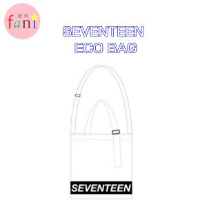 SEVENTEEN ECO BAG (WHITE) 2019 WORLD TOUR 'ODE TO YOU' OFFICIAL GOODS SVT 公式グッズ|fani2015