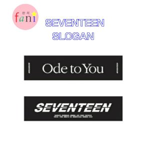 SEVENTEEN CONCERT SLOGAN「 2019 WORLD TOUR 'ODE TO YOU' OFFICIAL GOODS」SVT 公式グッズ fani2015