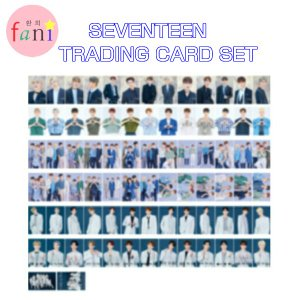 SEVENTEEN TRADING CARD SET「 2019 WORLD TOUR 'ODE TO YOU' OFFICIAL GOODS」SVT 公式グッズ|fani2015