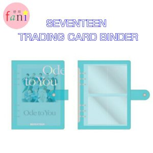 SEVENTEEN TRADING CARD BINDER「 2019 WORLD TOUR 'ODE TO YOU' OFFICIAL GOODS」SVT 公式グッズ|fani2015