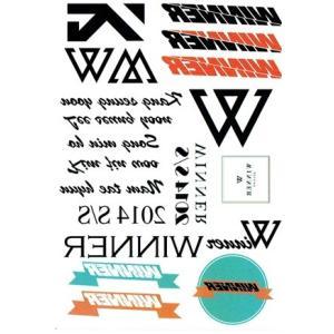 WINNER winner ウィナー タトゥーステッカー 【メール便可】 fani2015