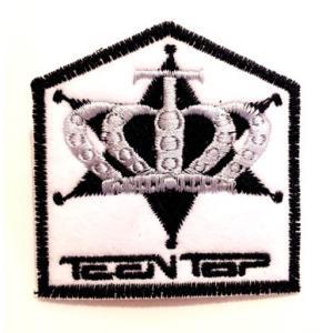 TEEN TOP teen top ティントップロゴ刺繍ワッペン【メール便可】|fani2015