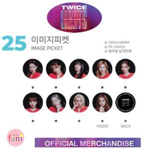 TWICE(トゥワイス)- [IMAGE PICKET] メンバー別選択 LIGHTS TWICE WOLRD TOUR 2019 OFFICIAL GOODS fani2015