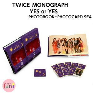 【宅配便指定商品】TWICE MONOGRAPH YES or YES PHOTOBOOK+PHOTOCARD 9EA|fani2015