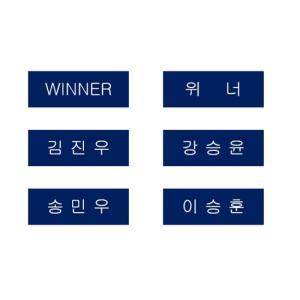 WINNER winner ウィナー 名札 ネームプレート fani2015