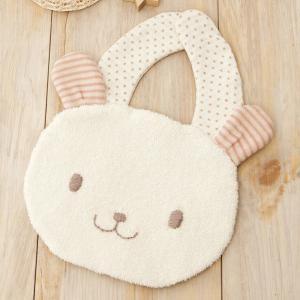 b5bcd0137f83c6 にっこりウサギのスタイ(手作りキット)20%割引 手芸(ベビー用品)オーガニックコットン