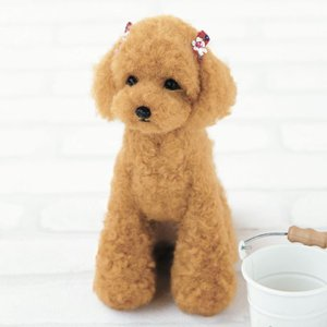 マスコット ぬいぐるみ 手作りキット ペット 犬 ドッグ Dog りある フェルト羊毛  【20%割...