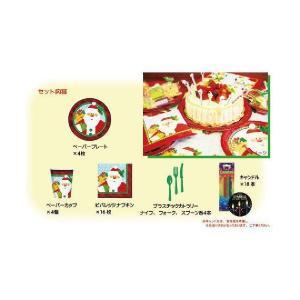 テーブルウェア・キャンドル「テーブルウェアセット クラフティクリスマス」/K