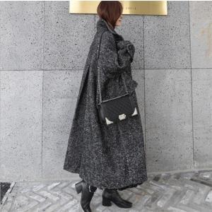 チェスターコート レディースコート チェスターコート ロング 超ロング エレガント 大きいサイズ コート アウター 厚手 高品質 韓国ファション|fanshopmatsuda