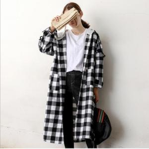 秋のアウターにぴったり チェックネルシャツ ワンピース 長袖 秋の レディース チェックシャツ 韓国ファッション|fanshopmatsuda