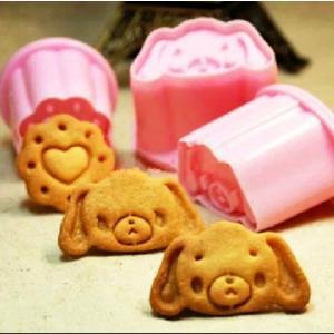 大人気♪シュガーバニーズ型3個セット♪キャラクターのクッキー抜き型2個セット