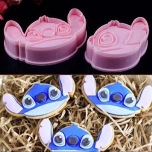 大人気♪スティッチ型セット♪キャラクターのクッキー抜き型2個セット