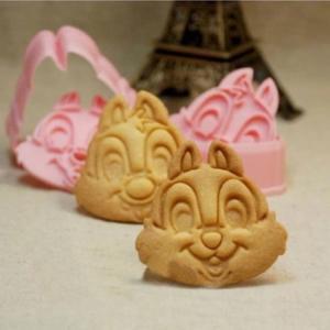 大人気♪チップとデール型セット♪キャラクターのクッキー抜き型2個セット