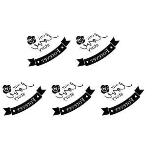 (ファンタジー) TheFantasy タトゥーシール 文字 薔薇 tm1101 【ワンポイント】