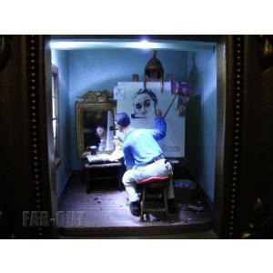 オルショウスキー ノーマン・ロックウェル セルフポートレイト ギャラリー・オブ・ライト ライトアップディスプレイ Olszewski Studios|far-out