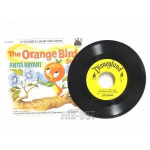 ディズニー オレンジバード EPレコード 1970年代 ヴィンテージ|far-out