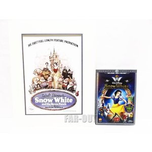 白雪姫 ブルーレイ&DVD ダイヤモンド・エディション リトグラフ アート付き セット  ディズニー|far-out