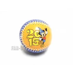 ディズニー野球ボール Disneyland 2015 ベースボール ミッキー 硬球|far-out