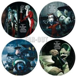 ナイトメアー・ビフォア・クリスマス ピクチャー LPレコード 2枚組セット 限定版 ディズニー|far-out