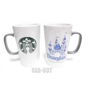 DL60周年記念 スターバックス コーヒー スリーピングビューティー城 マグカップ トールサイズ ボックス入り ダイヤモンド・セレブレーション Starbucks|far-out