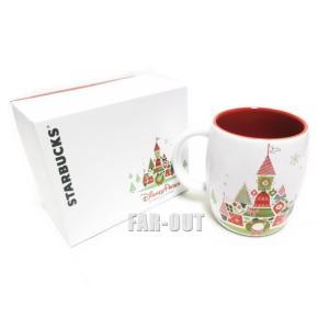 スターバックス コーヒー マグカップ クリスマスバージョン キャッスル ディズニーテーマパーク限定 Starbucks|far-out