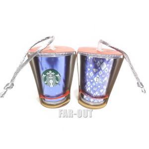 DL60周年記念 スターバックス コーヒー クリスマス オーナメント ミニドリンクカップ タンブラー ダイヤモンド・セレブレーション Starbucks ディズニー|far-out