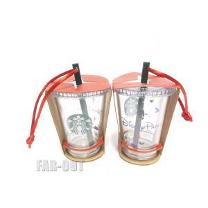 スターバックス コーヒー クリスマス オーナメント ミニドリンクカップ タンブラー テーマパーク限定 Starbucks ディズニー|far-out