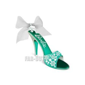ホールマーク 2016 オーナメント バービー ハイヒール 靴 シューズ クリスマス Shoe-Sational 限定版|far-out