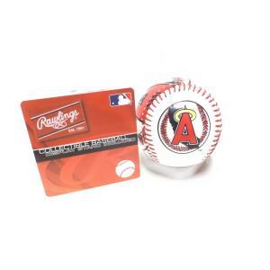 ローリングス ロサンゼルス エンゼルス オブ アナハイム ベースボール 野球 硬球 ディスプレイスタンド付き  LOS ANGELES ANGELS Rawlings Collectible Baseball|far-out
