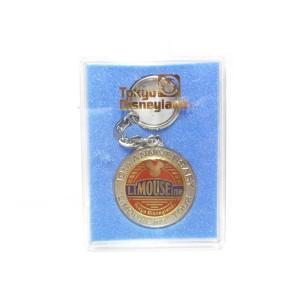 東京ディズニーランド 10周年記念 リマウジン 1993年 メダル キーホルダー キーチェーン ケース入り TDL LiMOUSEine Tour|far-out