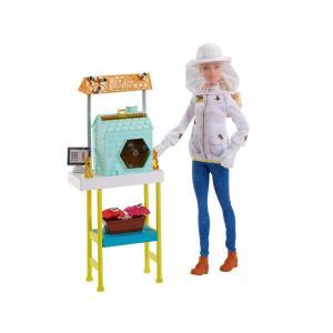 バービー 養蜂家 ドール 人形 プレイセット ミツバチ 蜂蜜 はちみつ Barbie Beekeeper|far-out