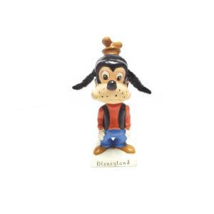 グーフィー ボブルヘッド 首ふり フィギュアリン ヴィンテージ 1960年代 ディズニーランド Disneyland Goofy|far-out