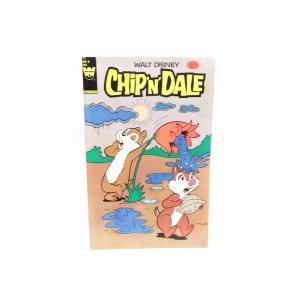 チップ&デール コミックブック 花の水を浴びるデール表紙 WHITMAN 1984年 ヴィンテージ まんが ディズニー チップとデール|far-out