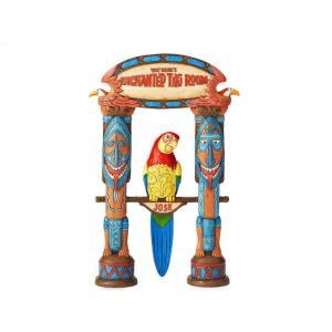 ディズニー・トラディション 魅惑のチキルーム テーマパーク アトラクション フィギュア Jim Shore ジム・ショア フィギュアリン オウム鳥のホセ