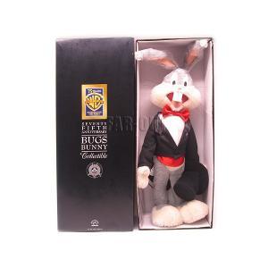 バッグス・バニー ワーナー・ブラザーズ75周年記念 ドール モヘアぬいぐるみ ラージサイズ 1998年 ルーニー・テューンズ Looney Tunes|far-out