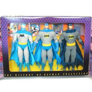バットマン ヒストリー コレクションドール 人形 3体セット The History of Batman Collection far-out