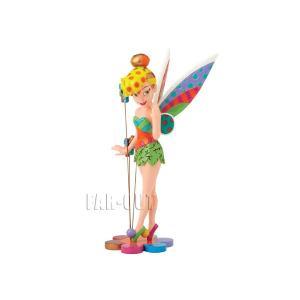 ロメロ・ブリット ティンカー・ベル Tinker Bell フィギュア 花の上に立つ 8インチ ラージサイズ Disney by BRITTO|far-out