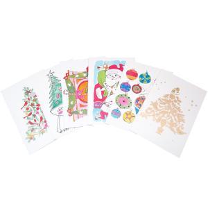アンディ・ウォーホル プリポップ アート クリスマス メッセージカード 6枚セット|far-out