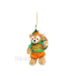 TDS 東京ディズニーシー ダッフィー ぬいぐるみ ストラップ ハロウィーン 2010年 かぼちゃ パンプキン服 Duffy|far-out