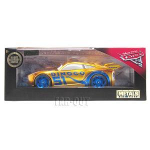 D23 Expo USA  2017 Cars カーズ3 クルーズ・ラミレス ゴールド Cruz Ramirez DINOCO 1:24 メタルダイキャストカー Jada Toys ディズニー D23エキスポ|far-out