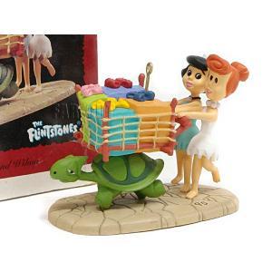 ホールマーク 1995 オーナメント 原始家族フリントストーン  ベティ&ウィルマ Betty and Wilma ハンナ・バーベラ The Flintstones